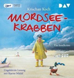 Mordseekrabben, 1 MP3-CD - Koch, Krischan