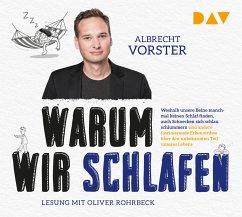 Warum wir schlafen, 4 Audio-CDs, MP3 Format - Vorster, Albrecht