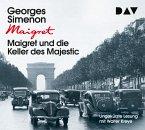Maigret und die Keller des Majestic, 4 Audio-CDs