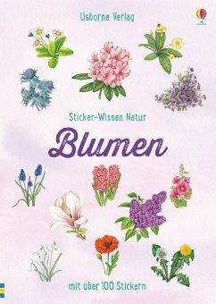 Sticker-Wissen Natur: Blumen - Miles, Lisa