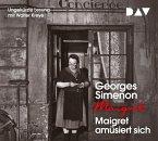 Maigret amüsiert sich, 4 Audio-CDs