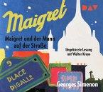 Maigret und der Mann auf der Straße, 2 Audio-CDs