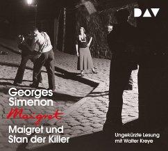 Maigret und Stan der Killer / Kommissar Maigret Bd.92 (1 Audio-CD) - Simenon, Georges