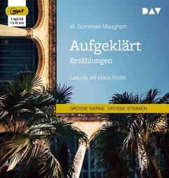 Aufgeklärt. Erzählungen, 1 MP3-CD - Maugham, William Somerset