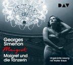 Maigret und die Tänzerin, 4 Audio-CDs