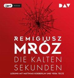 Die kalten Sekunden, 1 MP3-CD - Mróz, Remigiusz
