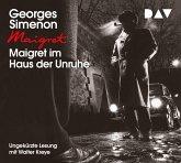 Maigret im Haus der Unruhe, 4 Audio-CDs