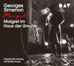 Maigret im Haus der Unruhe, 4 Audio-CDs - Simenon, Georges