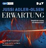 Erwartung / Carl Mørck. Sonderdezernat Q Bd.5 (2 MP3-CDs)