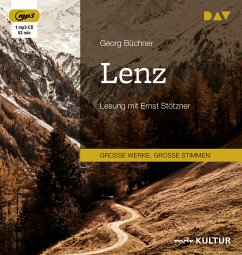 Lenz, 1 MP3-CD - Büchner, Georg