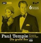 Paul Temple - Die große Box, 6 Audio-CD, 6 MP3