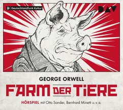 Farm der Tiere, 1 Audio-CD - Orwell, George