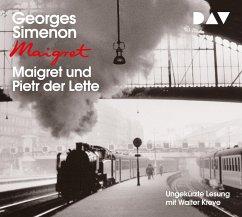 Maigret und Pietr der Lette / Kommissar Maigret Bd.1 (4 Audio-CDs) - Simenon, Georges