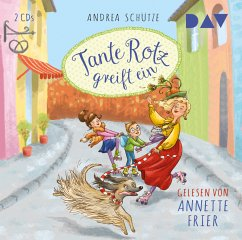 Tante Rotz greift ein / Tante Rotz Bd.2 (2 Audio-CDs) - Schütze, Andrea