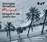 Maigret in der Liberty Bar, 3 Audio-CDs