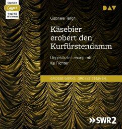 Käsebier erobert den Kurfürstendamm, 1 MP3-CD - Tergit, Gabriele
