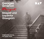Maigret und Inspektor Griesgram, 1 Audio-CD