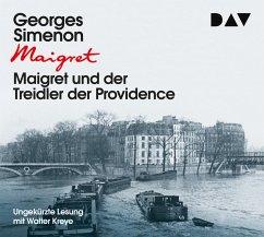 Maigret und der Treidler der Providence / Kommissar Maigret Bd.4 (3 Audio-CDs) - Simenon, Georges