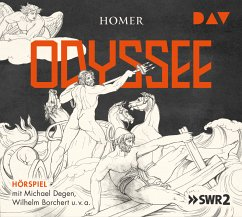 Odyssee, 4 Audio-CDs - Homer