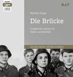 Die Brücke, 1 MP3-CD - Gregor, Manfred