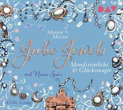 Mondsteinlicht und Glücksmagie / Julie Jewels Bd.3 (4 Audio-CDs) - Meister, Marion