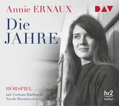 Die Jahre, 1 Audio-CD - Ernaux, Annie