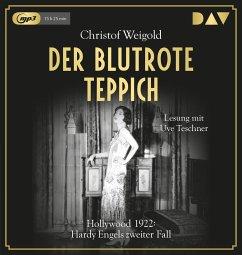 Der blutrote Teppich / Hardy Engel Bd.2 (2 MP3-CDs) - Weigold, Christof