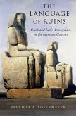 The Language of Ruins (eBook, PDF)