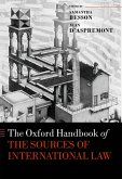 The Oxford Handbook of the Sources of International Law (eBook, PDF)