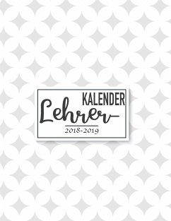 Lehrerkalender & Schulplaner 2018-2019