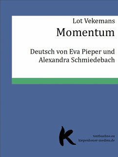 Momentum (eBook, ePUB) - Vekemans, Lot