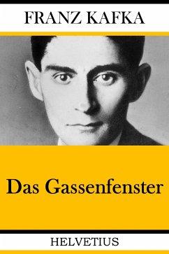 Das Gassenfenster (eBook, ePUB) - Kafka, Franz