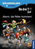 Die drei ??? Kids, Bücherhelden, Alarm, die Ritter kommen! (drei Fragezeichen Kids) (eBook, PDF)