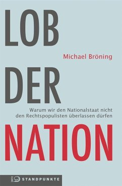 Lob der Nation (Mängelexemplar) - Bröning, Michael