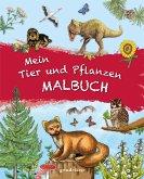 Mein Tier und Pflanzen Malbuch.