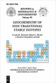 Geochemistry of Non-Traditional Stable Isotopes (eBook, PDF)