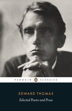 Selected Poems and Prose (eBook, ePUB) - Thomas, Edward