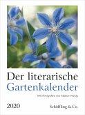 Der literarische Gartenkalender 2020