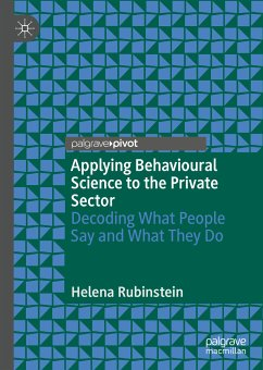 Applying Behavioural Science to the Private Sector (eBook, PDF) - Rubinstein, Helena