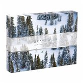Gray Malin Snow 500 Piece Double-Sided Puzzle