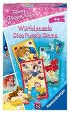 Ravensburger 23452 - Disney Princess, Würfelpuzzle, Reisespiel, Mitbringspiel