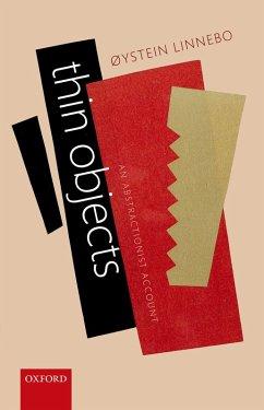 Thin Objects (eBook, PDF) - Linnebo, Øystein