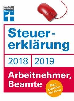 Steuererklärung 2018/2019 - Arbeitnehmer, Beamte (eBook, PDF) - Fröhlich, Hans W.
