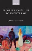 From Personal Life to Private Law (eBook, PDF)