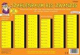 PRESSOGRAM Zaubertafel - Zahlenreihe bis 20 - Grundschule Klasse 1