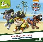 Paw Patrol - Der Piratenschatz, 1 Audio-CD