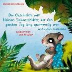 Die Geschichte vom kleinen Siebenschläfer, der den ganzen Tag lang grummelig war / Der kleine Siebenschläfer Bd.4 (1 Audio-CD)