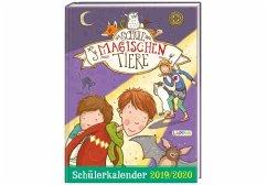 Die Schule der magischen Tiere Schülerkalender 2019/2020 - Auer, Margit