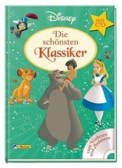 Disney Klassiker: Die schönsten Klassiker mit CD