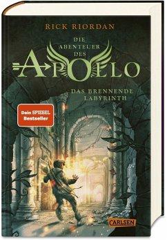 Das brennende Labyrinth / Die Abenteuer des Apollo Bd.3